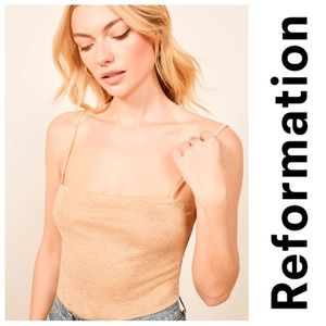 New REFORMATION Isabella Camisole